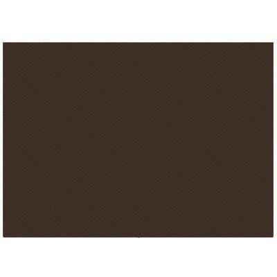 set de table marron textilise 34 x 50