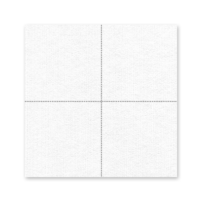 serviette cocktail blanche 30 x 30