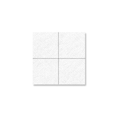 serviette cocktail blanche 20 x 20
